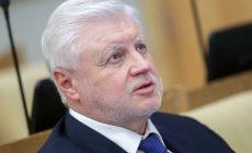 Миронов призвал ввести закон против кандидатов-двойников