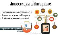 Инвестиции в интернете от 100 рублей — ТОП-15 способов онлайн инвестирования