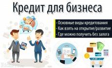 Как взять кредит на открытие и развитие малого бизнеса с нуля — 7 этапов + банки