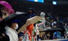 В Нью-Йорке потоп – на US Open залило даже крытый корт, а в метро били фонтаны